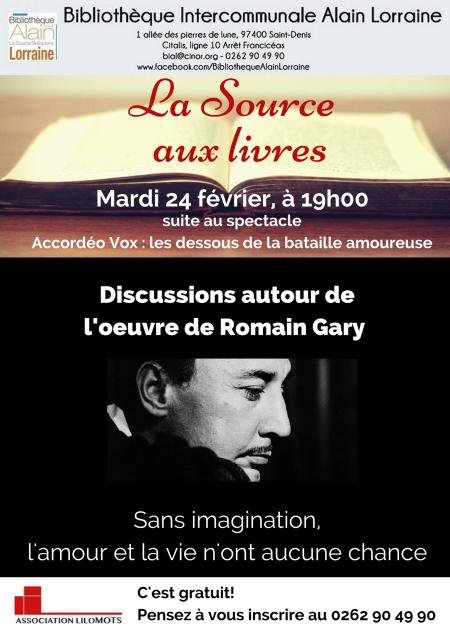Romain Gary - LA SOURCE AUX LIVRES